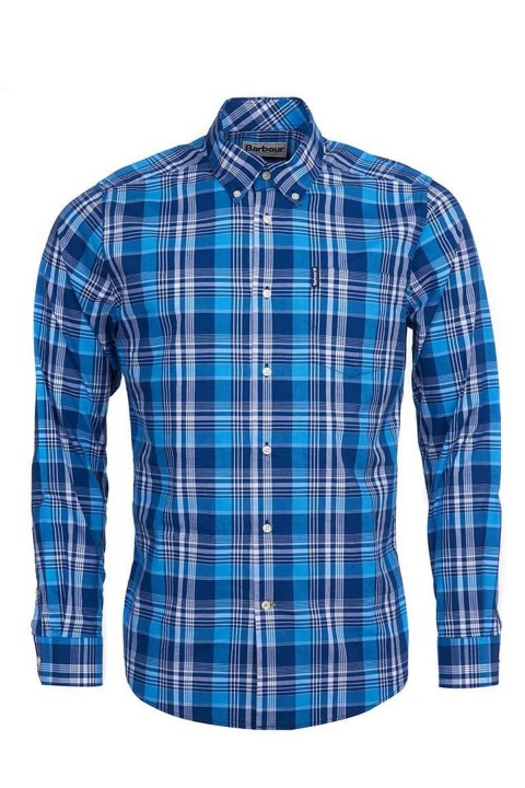 Barbour Barbour Country Check 10 Tailored Gömlek BL33 Blue