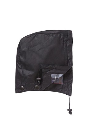 Barbour - Waxed Cotton Hood BK91 Black