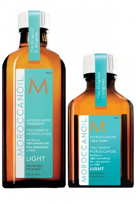 Moroccanoil - Moroccanoil Treatment Light Argan Bakım Yağı 100ml + 25ml  2Lİ SET