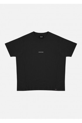 For Fun - Hostage Siyah Oversize T-Shirt