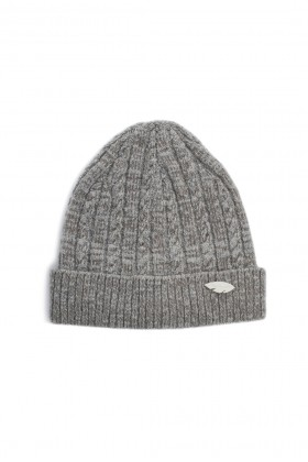 Michrame Studio - BEANIE KNIT CREAM