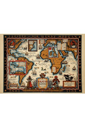 Sauca Collection - Pirates Map