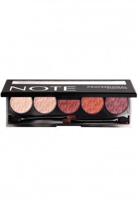 Note - Note Professional Eyeshadow Far Paleti 107