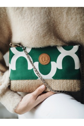 Laden's Collection - Yeşil Moroccan Clutch