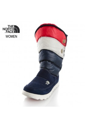 The North Face - The North Face LACİVERT Kadın Bot T0A0Y2G5H  W SOPRIS  /  SHINY COSMIC BLUE/TNF RED