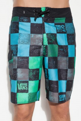 Vans - Frother Boardshort Blue Green Deniz Şortu