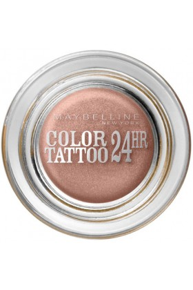 Maybelline - Maybelline New York Color Tattoo 24H Göz Farı - 65 Pink Gold - Metalik Pembe