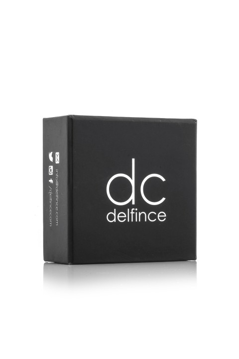 Delfince Delfince Leather Pieces Black Bileklik